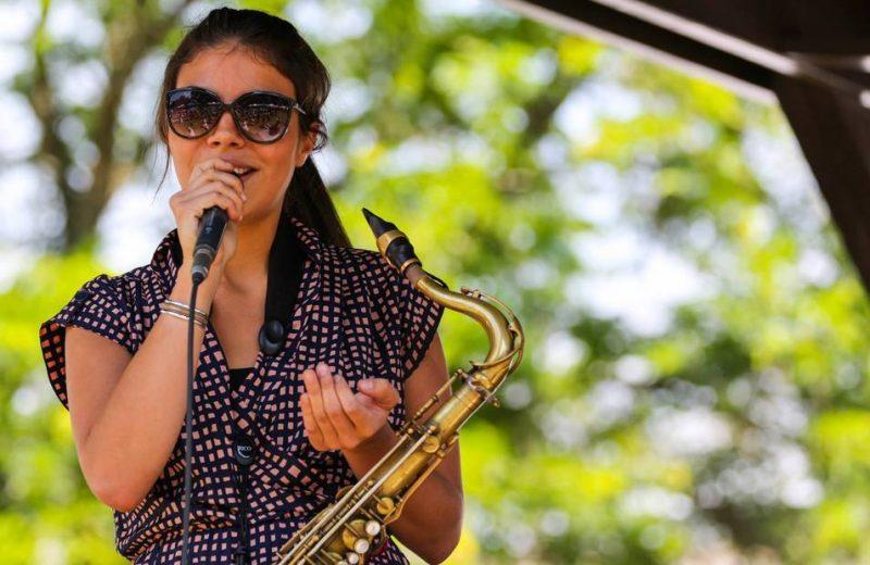Melissa Aldana, Freihofer's Saratoga Jazz Festival, 2014