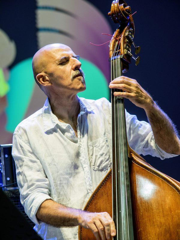 Enzo Pietropaoli at Umbria Jazz 2014