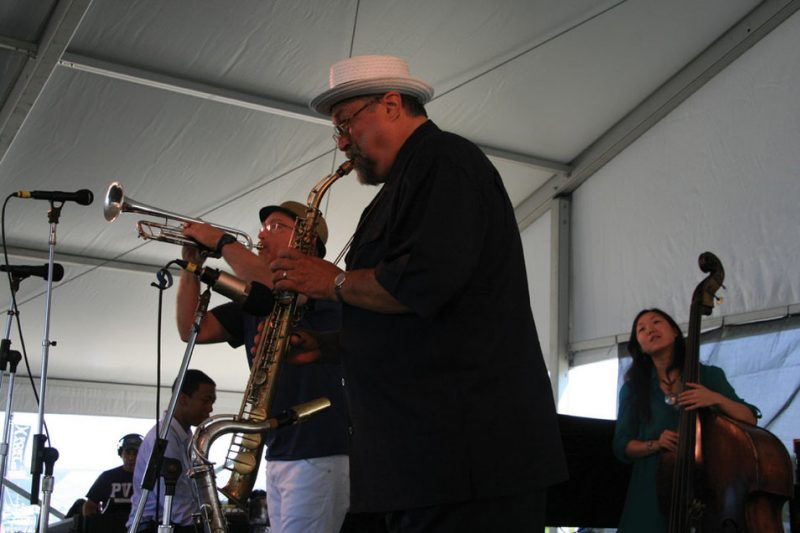 Dave Douglas and Joe Lovano, Newport Jazz Festival, August 2012