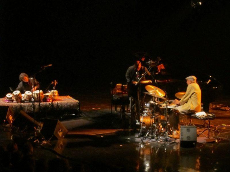 Zakir Hussain, Eric Harlan and Charles Lloyd, Montreal Jazz Festival, 2013