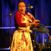 Dee Dee Bridgewater performing at the 2014 Exit O International Jazz Festival image 0