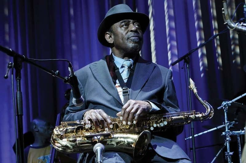 Archie Shepp at Belgium's Jazz a Liege festival, may 2014