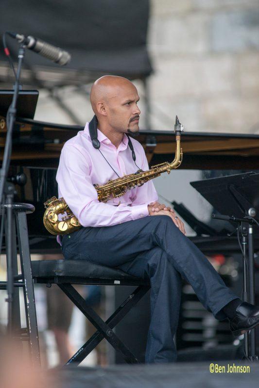 Miguel Zenón, Newport Jazz Festival 2014