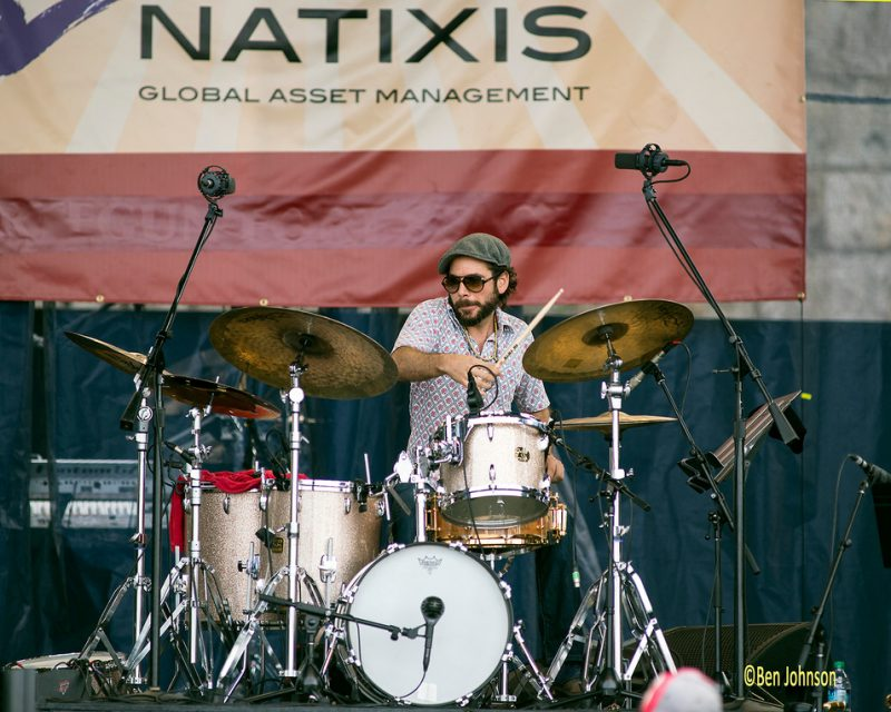 "Henry Cole with Miguel Zenón & The ""Identities"" Big Band, Newport Jazz Festival 2014"