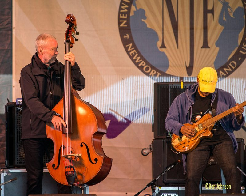 Dave Holland and Kevin Eubanks, Newport Jazz Festival, 2014