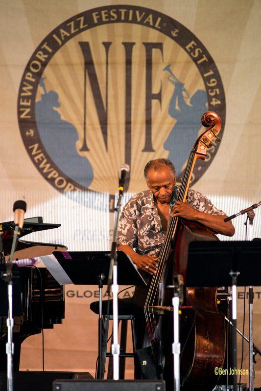 Cecil McBee, Newport Jazz Festival 2014