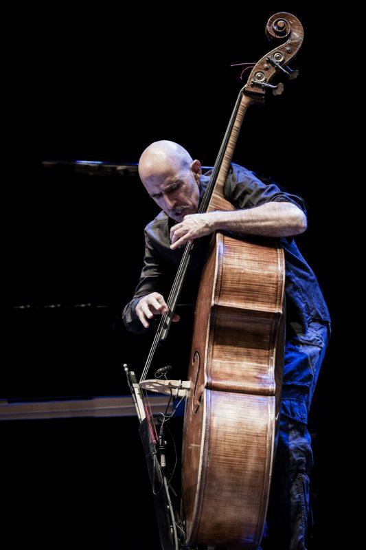 Enzo Pietropaoli performs in Doctor 3 at the Teatro Morlacchi, Umbria Jazz 2014