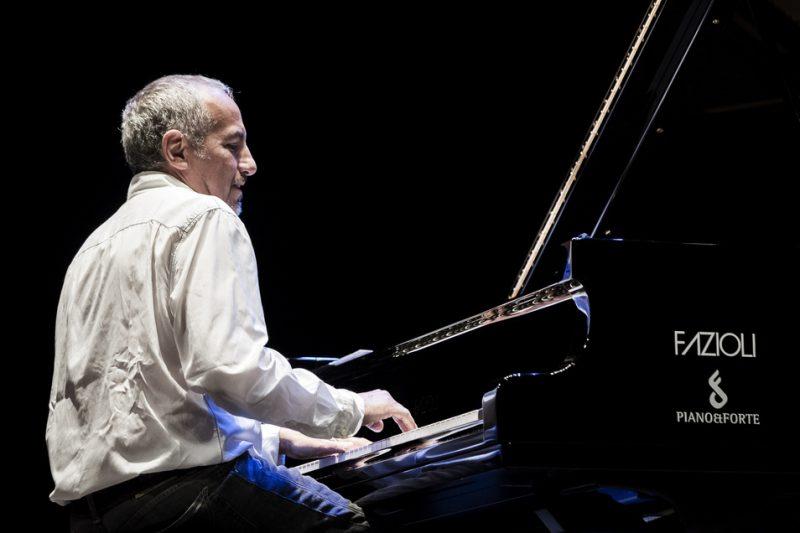 Danilo Rea performs in Doctor 3 at the Teatro Morlacchi, Umbria Jazz 2014