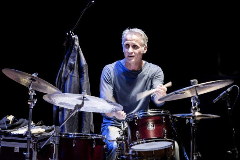 Fabrizio Sferra performs in Doctor 3 at the Teatro Morlacchi, Umbria Jazz 2014