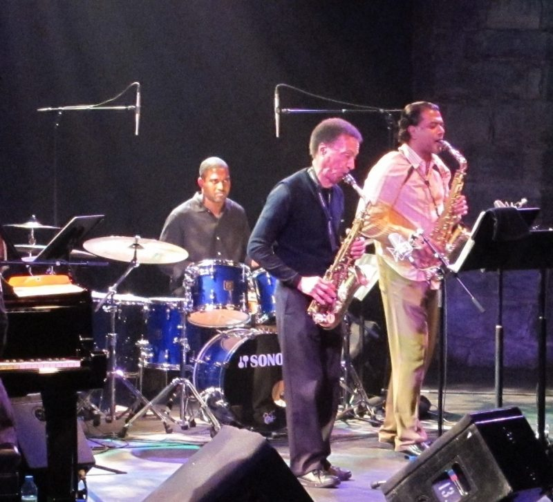 Apex performing during the 2011 Montreal International Jazz Festival