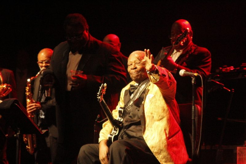 B.B. King, Montreal Int'l Jazz Festival, July 2014