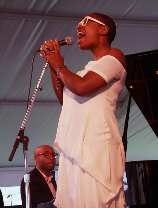 Cécile McLorin Salvant, Newport Jazz Festival 2014