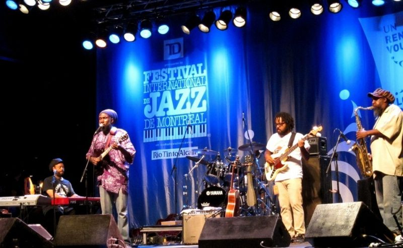 Corey Harris and the Rasta Blues Experience, Montreal Jazz Festival, 2012