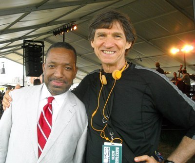 Donald Harrison and Russ Davis at 2014 Newport Jazz Festival