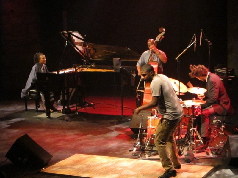 Geri Allen performing with her group Timeline during the 2011 Montreal International Jazz Festival
