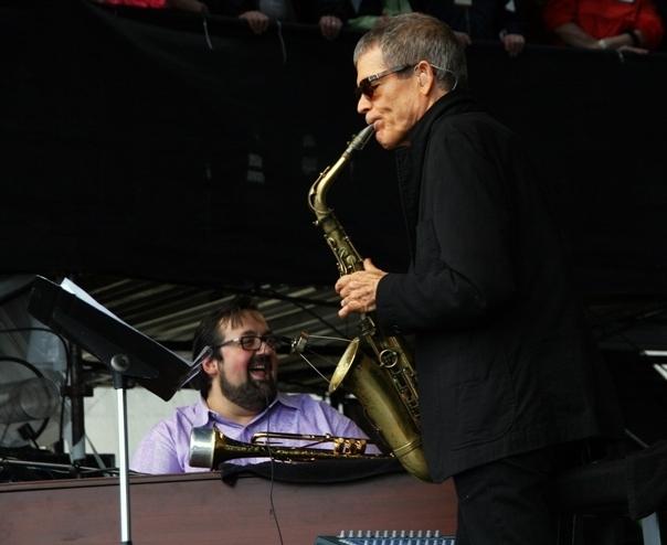 Joey DeFrancesco, David Sanborn, Newport Jazz Festival 2014