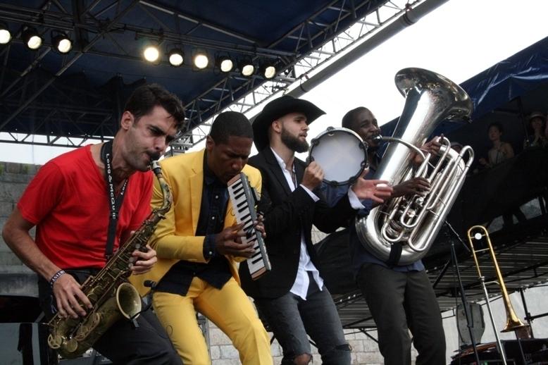 Jon Batiste and Stay Human, Newport Jazz Festival 2014