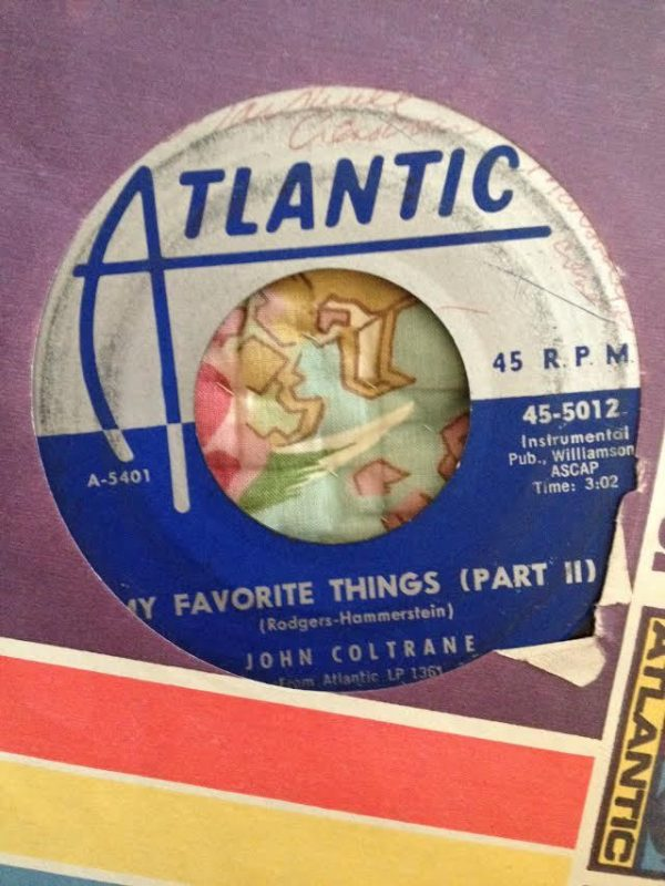 "Atlantic Records 45 of John Coltrane's ""My Favorite Things"""