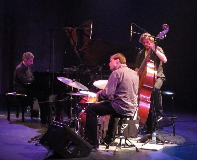 The Pilc-Moutin-Hoenig Trio performing during the 2011 Montreal International Jazz Festival