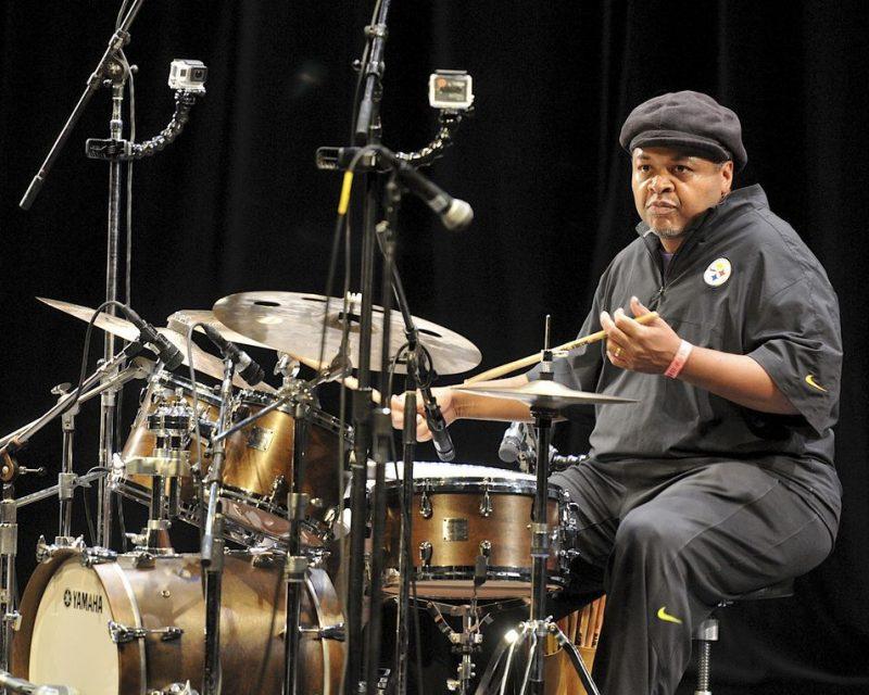 """Jeff """"Tain """"Watts, San Jose Jazz Summer Fest, 2014"""
