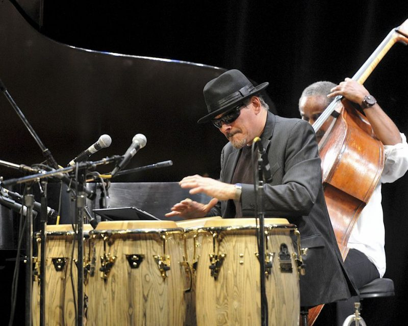 Jerry Gonzalez (Fort Apache), San Jose Jazz Summer Fest, 2014