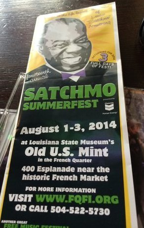 Satchmo Summerfest 2014, New Orleans