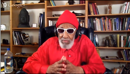Sonny Rollins, in a webcast, addresses an article about him in The New Yorker, August 2014 image 0