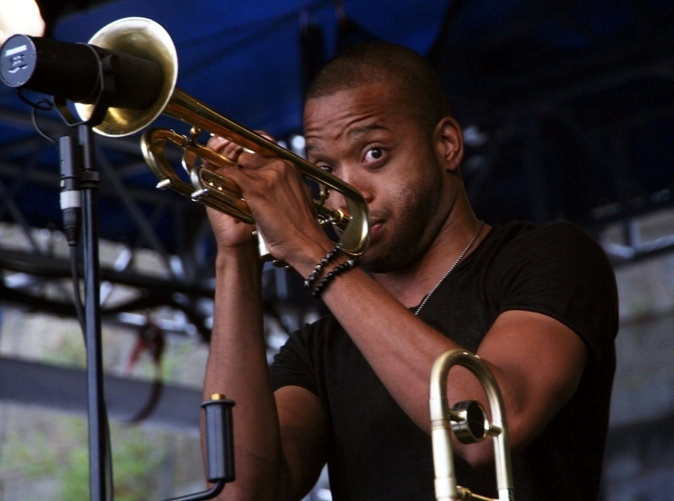 Trombone Shorty, Newport Jazz Festival 2014