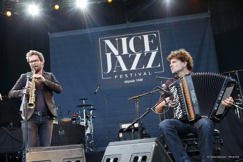 Vincent Peirani & Emile Parisien, Nice Jazz Festival 2014