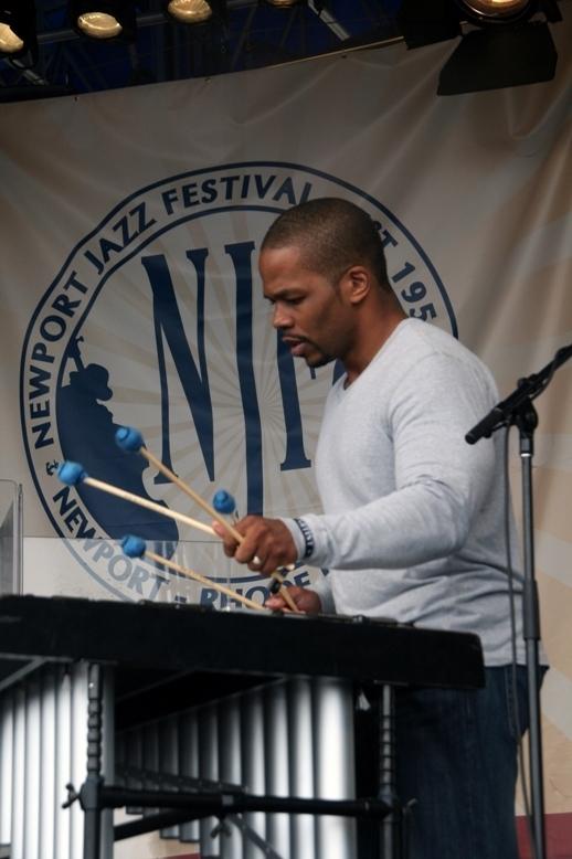 Warren Wolf, Newport Jazz Festival 2014