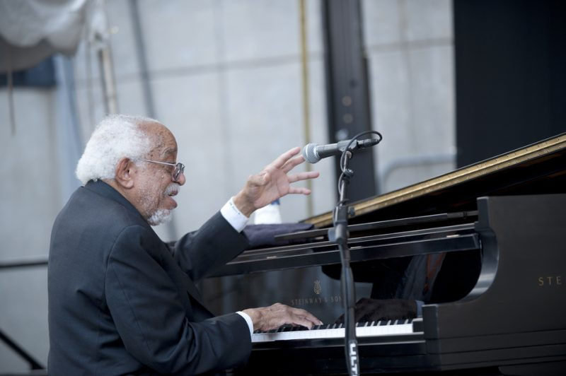 Barry Harris, Detroit Jazz Festival 2014
