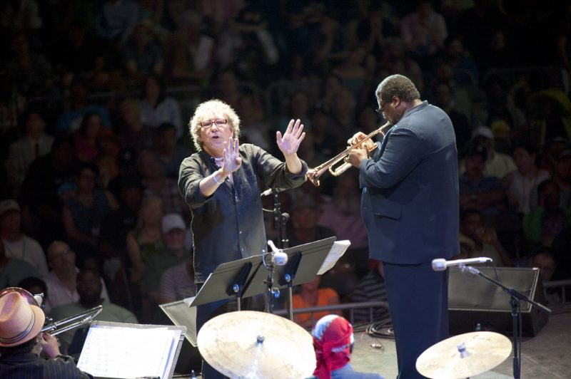 Bob Belden and Wallace Roney, Detroit Jazz Festival 2014