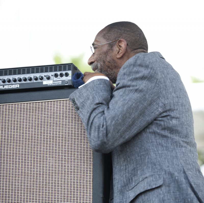 Ron Carter, Detroit Jazz Festival 2014