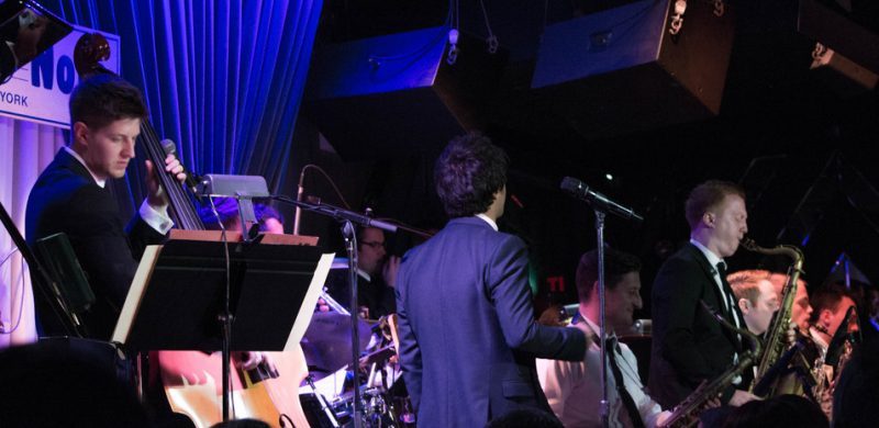 Jamie Cullum and big band, Blue Note NYC, 9-14