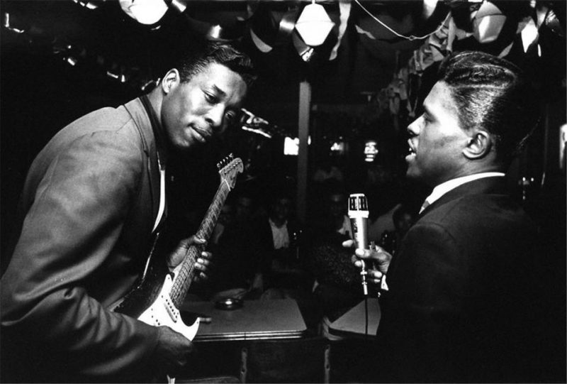 Buddy Guy and Junior Wells in 1965