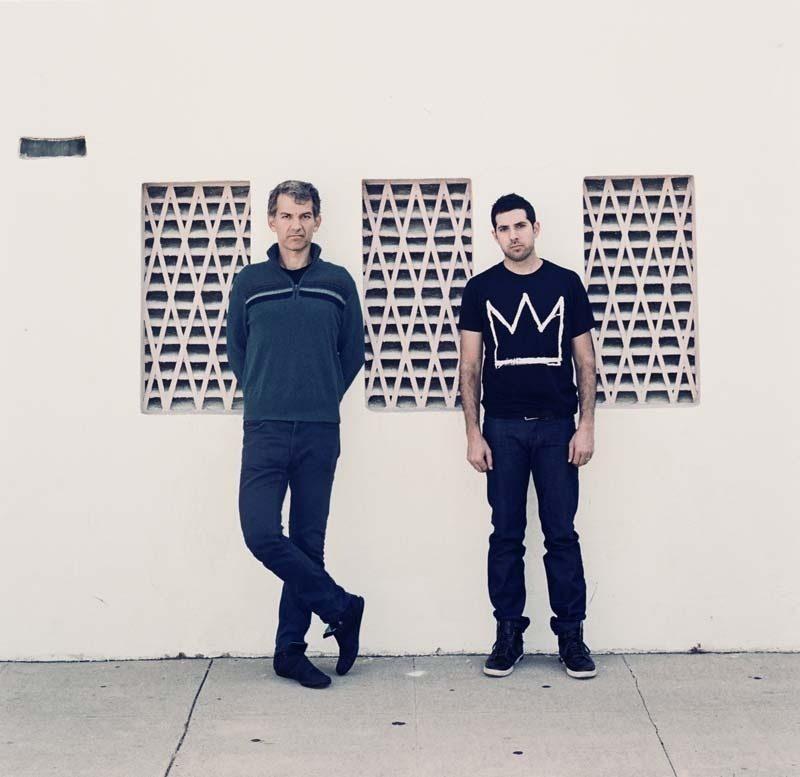 Brad Mehldau (left) and Mark Guiliana