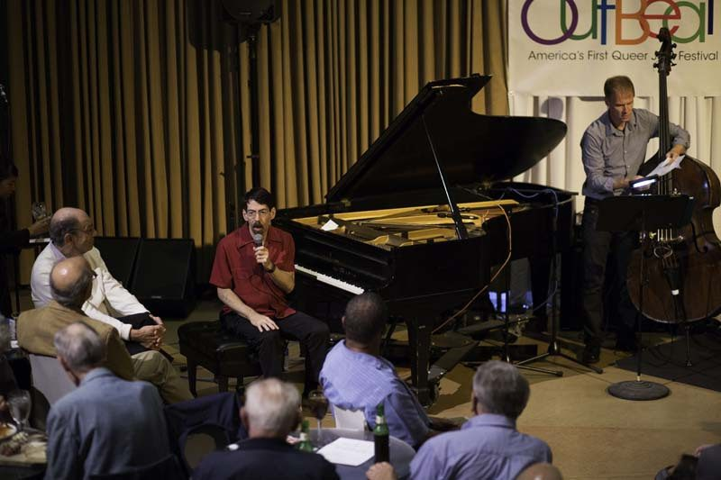 Pianist Fred Hersch performs with his trio at the Philadelphia Museum of Art, in Sept. 2014, as part of the OutBeat Jazz Festival. Photo courtesy of OutBeat Jazz Festival