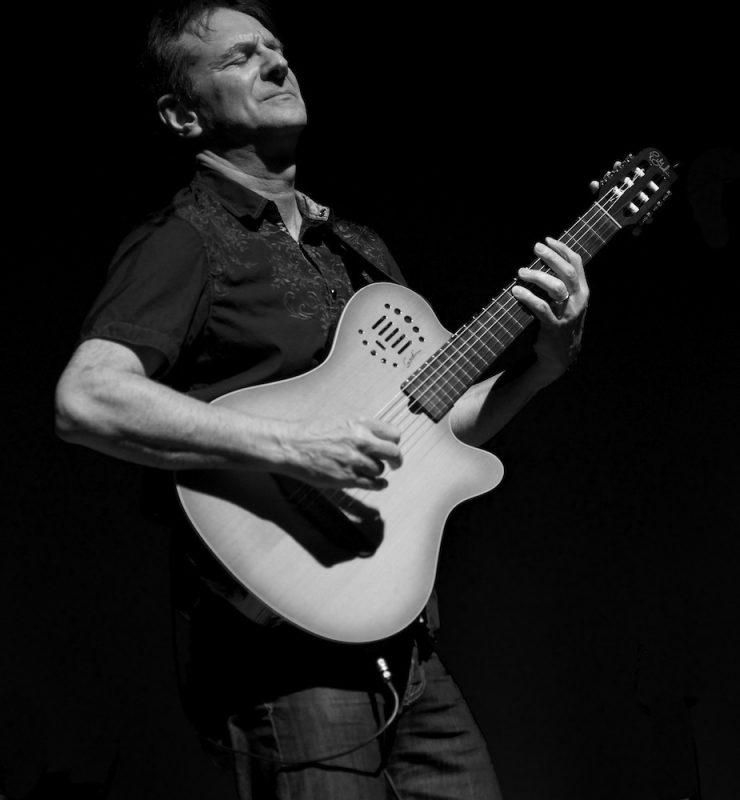 Ken Navarro in performance at the Attucks Theatre in Norfolk, Va.