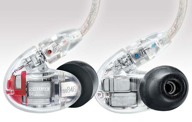 Shure SE846 headphones