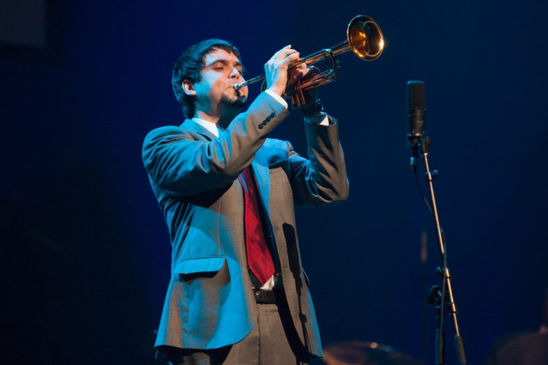 Second-place trumpeter Billy Buss, Monk Institute Competition Gala 2014