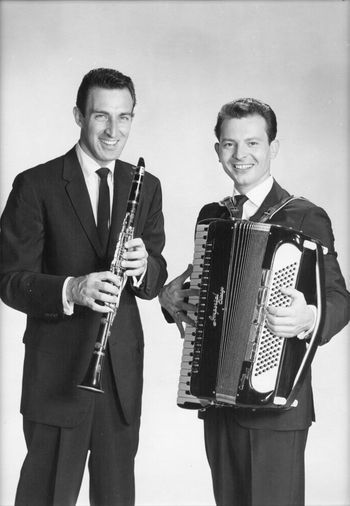 Buddy DeFranco (l.) and Tommy Gumina