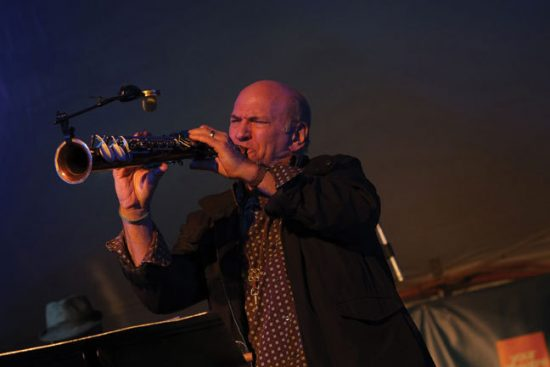 Dave Liebman on soprano saxophone image 0