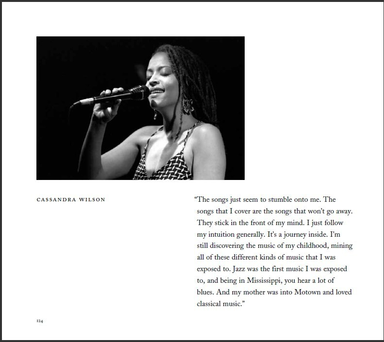 "Cassandra Wilson entry in Ken Franckling's ""Jazz in the Key of Light"""