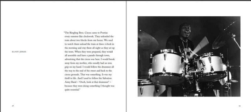 "Elvin Jones entry in Ken Franckling's ""Jazz in the Key of Light"""