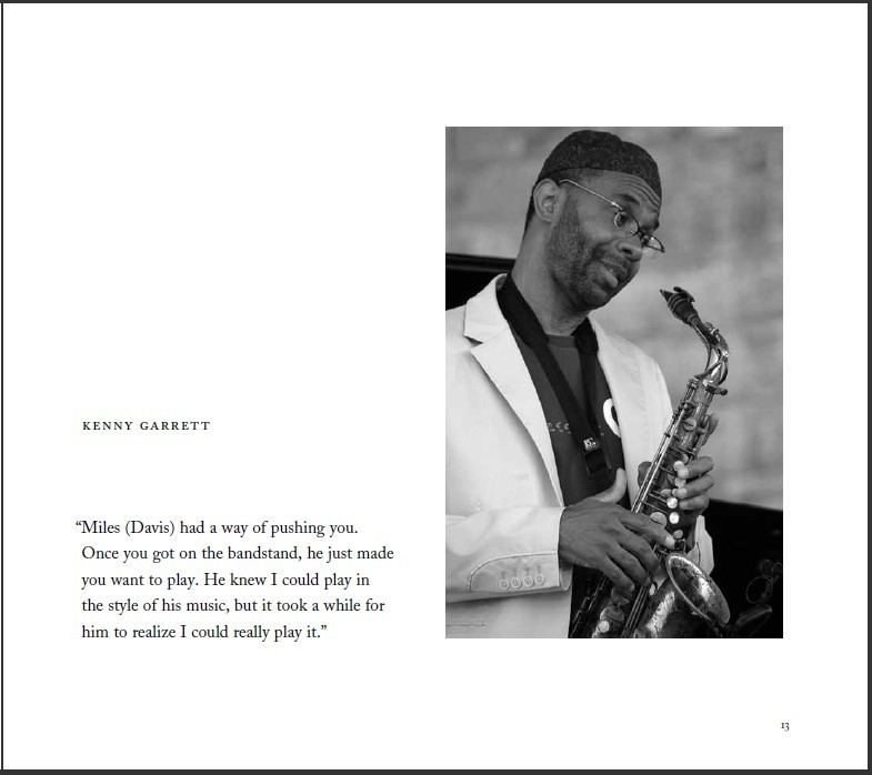 "Kenny Garrett entry in Ken Franckling's ""Jazz in the Key of Light"""
