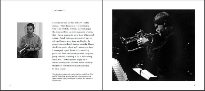 "Tom Harrell entry in Ken Franckling's ""Jazz in the Key of Light"""