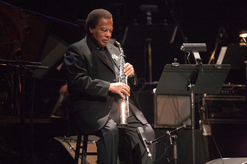 Wayne Shorter at the 2014 Monk Institute Competition Gala in L.A.