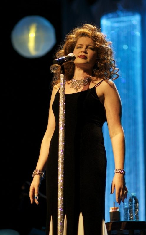 Jaimee Paul in performance at The Henrico Theater in Richmond, VA