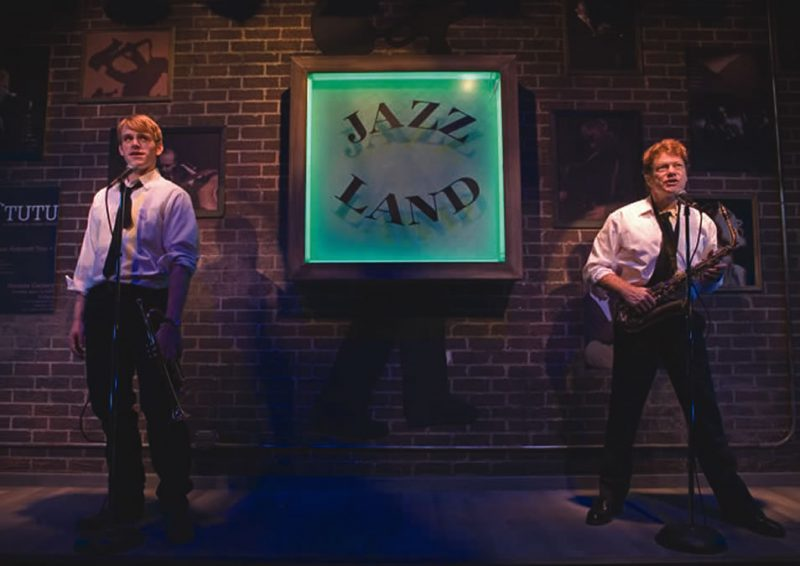 A scene from Jazzland