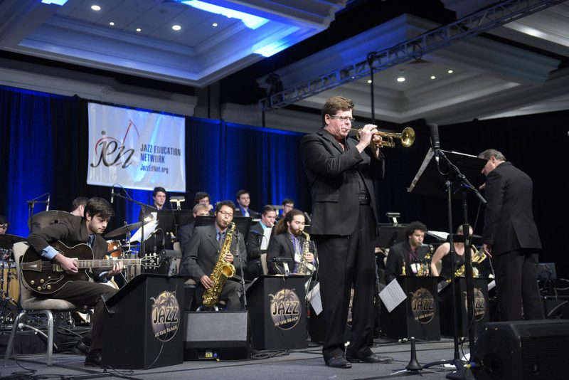 Wayne Bergeron with Cal State U. Concert Jazz Orchestra, Jazz Education Network Conference, San Diego 1-15